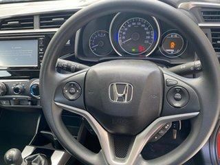 2018 Honda Jazz GF MY19 VTi Orange 5 Speed Manual Hatchback