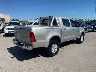 2006 Toyota Hilux GGN25R 06 Upgrade SR5 (4x4) Gold 5 Speed Manual Dual Cab Pick-up