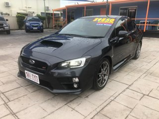 2014 Subaru WRX V1 MY15 STI AWD Premium Grey 6 Speed Manual Sedan.