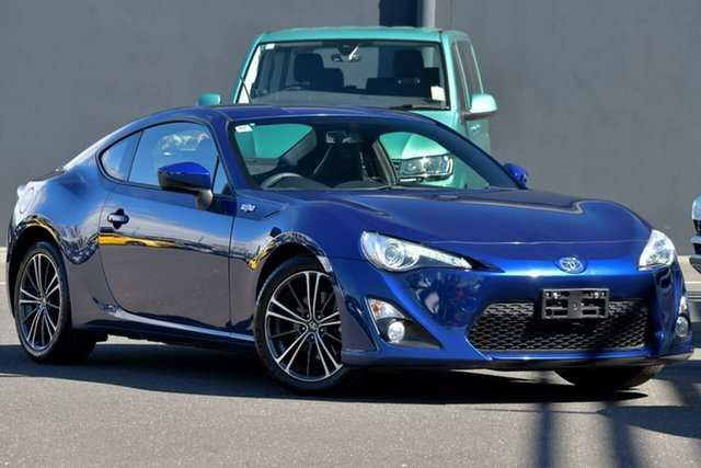 Used Toyota 86 ZN6 GTS Moorabbin, 2013 Toyota 86 ZN6 GTS Blue 6 Speed Manual Coupe
