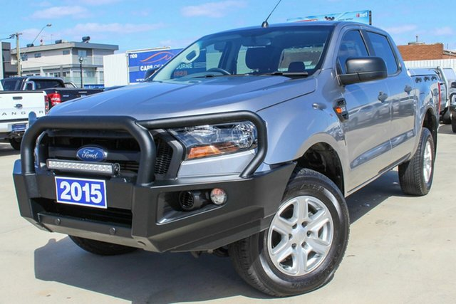 Used Ford Ranger PX MkII XL Hi-Rider Coburg North, 2015 Ford Ranger PX MkII XL Hi-Rider Grey 6 Speed Sports Automatic Utility