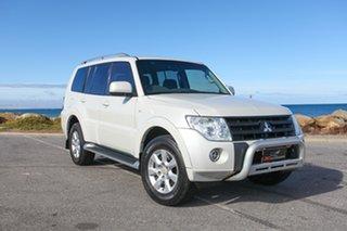2009 Mitsubishi Pajero NT MY10 RX White 5 Speed Sports Automatic Wagon.