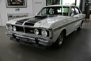 1971 Ford Falcon XY GT White 4 Speed Manual Sedan