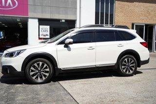 2014 Subaru Outback B5A MY14 3.6R AWD Premium White 5 Speed Sports Automatic Wagon.