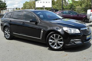2013 Holden Calais VF V Black 6 Speed Automatic Sportswagon.