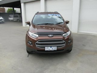 2015 Ford Ecosport BK Trend PwrShift Brown 6 Speed Sports Automatic Dual Clutch Wagon.