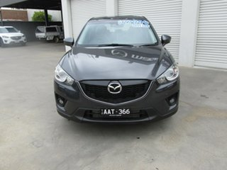 2013 Mazda CX-5 KE1021 MY13 Grand Touring SKYACTIV-Drive AWD Grey 6 Speed Sports Automatic Wagon.