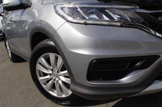 2016 Honda CR-V RM Series II MY17 VTi 4WD Lunar Silver 5 Speed Sports Automatic Wagon.