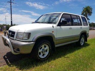2000 Holden Jackaroo U8 MY00 SE White 4 Speed Automatic Wagon.