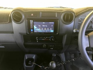 2011 Toyota Landcruiser VDJ79R MY10 GXL Silver 5 Speed Manual Cab Chassis