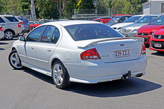 2004 Ford Falcon BA XR6 White 4 Speed Sports Automatic Sedan.