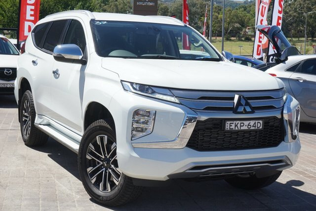 Used Mitsubishi Pajero Sport QF MY20 GLS Phillip, 2020 Mitsubishi Pajero Sport QF MY20 GLS White 8 Speed Sports Automatic Wagon