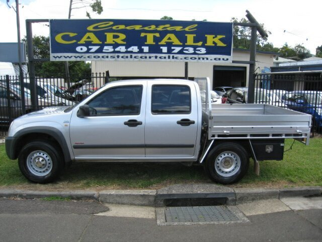 Used Holden Rodeo RA MY07 LX (4x4) Nambour, 2007 Holden Rodeo RA MY07 LX (4x4) Silver 5 Speed Manual Crew Cab Chassis