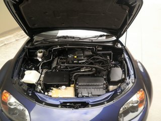 2006 Mazda MX-5 NC30F1 MY07 Roadster Coupe Blue Mica Metallic 6 Speed Manual Hardtop