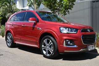 2016 Holden Captiva CG MY16 LTZ AWD Maroon 6 Speed Sports Automatic Wagon