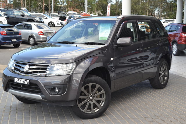 Used Suzuki Grand Vitara JB Sport Maitland, 2016 Suzuki Grand Vitara JB Sport Grey 5 Speed Manual Wagon
