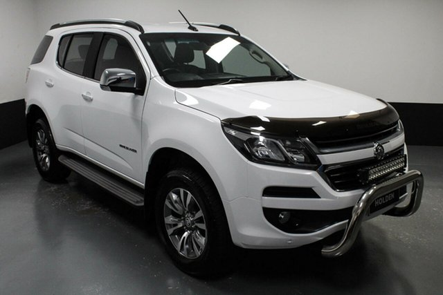 Used Holden Trailblazer RG MY18 LTZ Cardiff, 2018 Holden Trailblazer RG MY18 LTZ White 6 Speed Sports Automatic Wagon