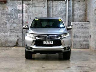 2016 Mitsubishi Pajero Sport QE MY17 GLS Silver 8 Speed Sports Automatic Wagon.