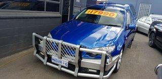 2013 Ford Falcon FG MK2 XR6 Blue 6 Speed Auto Seq Sportshift Utility