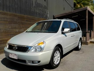 2012 Kia Grand Carnival VQ MY13 SI Silver 6 Speed Sports Automatic Wagon
