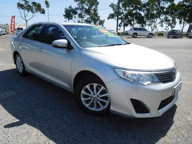 Used Toyota Camry ASV50R Altise Wangara, 2013 Toyota Camry ASV50R Altise Silver 6 Speed Sports Automatic Sedan