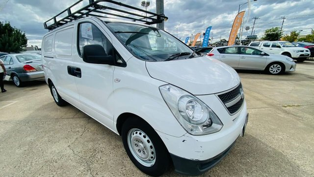 Used Hyundai iLOAD TQ2-V MY13 Maidstone, 2013 Hyundai iLOAD TQ2-V MY13 White 5 Speed Automatic Van