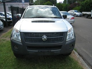2007 Holden Rodeo RA MY07 LX (4x4) Silver 5 Speed Manual Crew Cab Chassis.