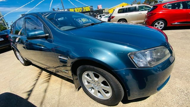 Used Holden Commodore VE MY10 Omega Sportwagon Maidstone, 2009 Holden Commodore VE MY10 Omega Sportwagon Blue 6 Speed Sports Automatic Wagon