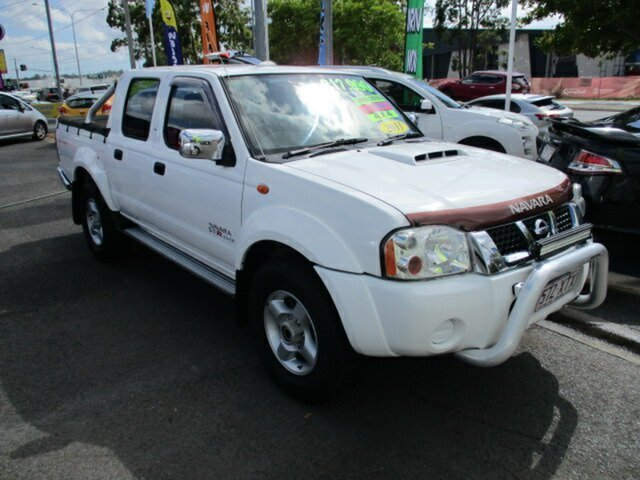 Used Nissan Navara Woodridge, 2011 Nissan Navara White 5 Speed Manual Dual Cab