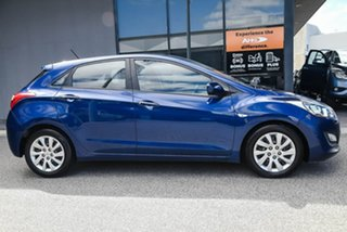 2012 Hyundai i30 GD Active Blue 6 Speed Sports Automatic Hatchback.