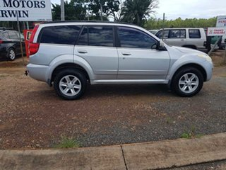 2012 Great Wall X240 CC6461KY MY12 Silver 5 Speed Manual Wagon.