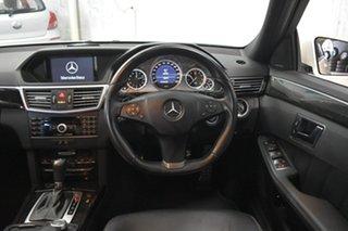 2010 Mercedes-Benz E250 212 CGI Avantgarde White 5 Speed Automatic Sedan