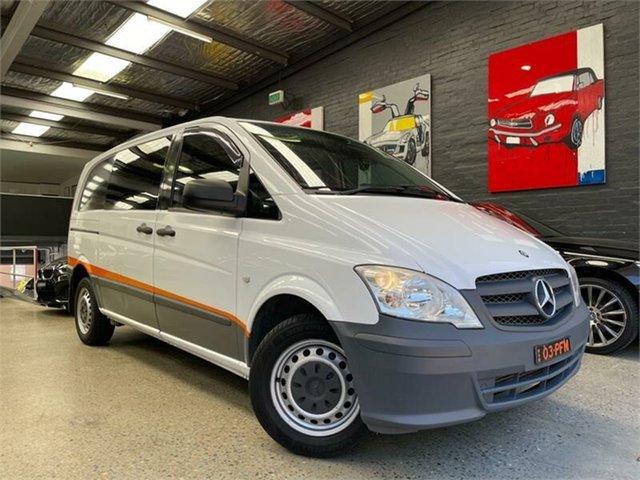 Used Mercedes-Benz Vito 639 110CDI Glebe, 2012 Mercedes-Benz Vito 639 110CDI White Manual Van