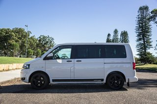 2011 Volkswagen Multivan T5 MY11 Edition DSG 25 White 7 Speed Sports Automatic Dual Clutch Wagon