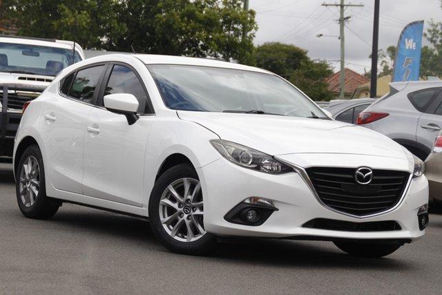 Used Mazda 3 BM5478 Touring SKYACTIV-Drive Mount Gravatt, 2015 Mazda 3 BM5478 Touring SKYACTIV-Drive White 6 Speed Sports Automatic Hatchback