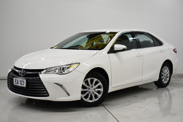 Used Toyota Camry ASV50R MY15 Altise Brooklyn, 2016 Toyota Camry ASV50R MY15 Altise White 6 Speed Automatic Sedan