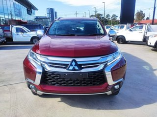 2018 Mitsubishi Pajero Sport QE MY18 Exceed Burgundy 8 Speed Sports Automatic Wagon