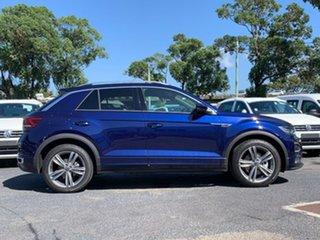 2020 Volkswagen T-ROC A1 MY20 140TSI DSG 4MOTION Sport Blue 7 Speed Sports Automatic Dual Clutch.