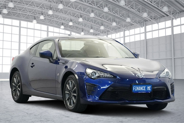Used Toyota 86 ZN6 GT Victoria Park, 2016 Toyota 86 ZN6 GT Blue 6 Speed Manual Coupe