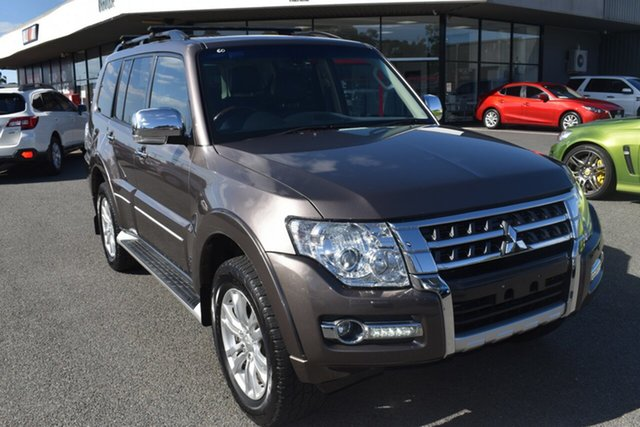 Used Mitsubishi Pajero NX MY15 Exceed Wantirna South, 2015 Mitsubishi Pajero NX MY15 Exceed Brown 5 Speed Sports Automatic Wagon