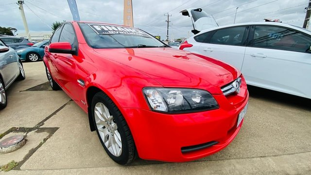 Used Holden Commodore VE MY10 International Maidstone, 2009 Holden Commodore VE MY10 International Red 6 Speed Sports Automatic Sedan