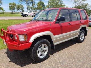 1996 Holden Jackaroo UBS II SE Red 5 Speed Manual Wagon.