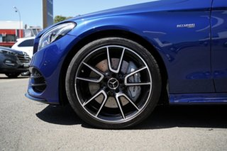 2017 Mercedes-AMG C43 C Brilliant Blue 9 Speed Automatic G-Tronic Coupe.