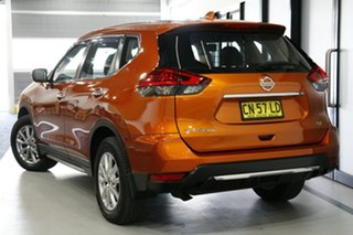 2017 Nissan X-Trail T32 ST (FWD) Amsterdam Orange Continuous Variable Wagon.