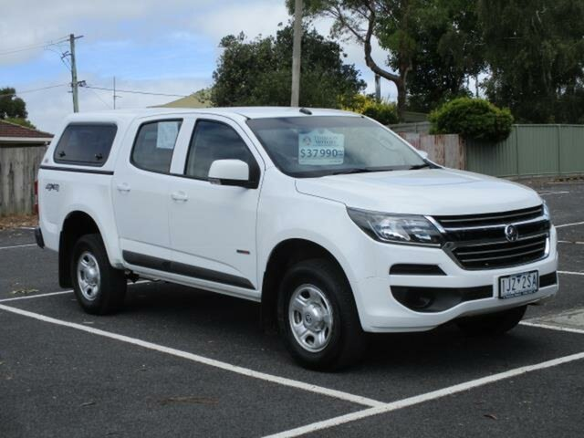 Used Holden Colorado Timboon, 2017 Holden Colorado LS 4x4 Summit White Automatic Crewcab