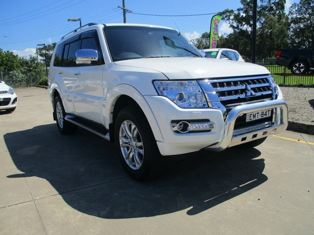 Used Mitsubishi Pajero NX MY20 GLS Leather Option Glendale, 2020 Mitsubishi Pajero NX MY20 GLS Leather Option White 5 Speed Sports Automatic Wagon