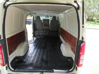 2008 Toyota HiAce KDH201R MY08 LWB White 5 Speed Manual Van