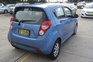 2014 Holden Barina Spark MJ MY14 CD Blue 4 Speed Automatic Hatchback