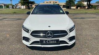 2020 Mercedes-Benz A-Class A250 DCT 4MATIC Polar White 7 Speed Sports Automatic Dual Clutch.