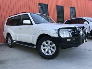 2017 Mitsubishi Pajero NX MY18 GLX White 5 Speed Sports Automatic Wagon.